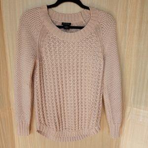 Calvin Klein chunky knit crew neck sweater. Medium